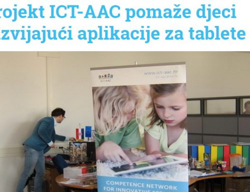 Studentski.hr (January 2014): ICT-AAC project helps children by developing applications for tablets