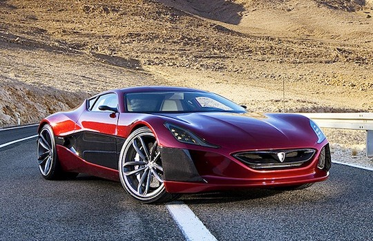 "Electric vehicle ""Concept_One"" produced by a Croatian company ""Rimac Automobile"""